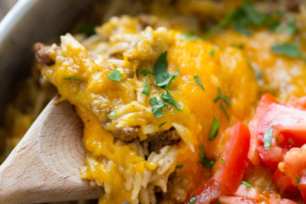 Easy Cheeseburger Skillet Image