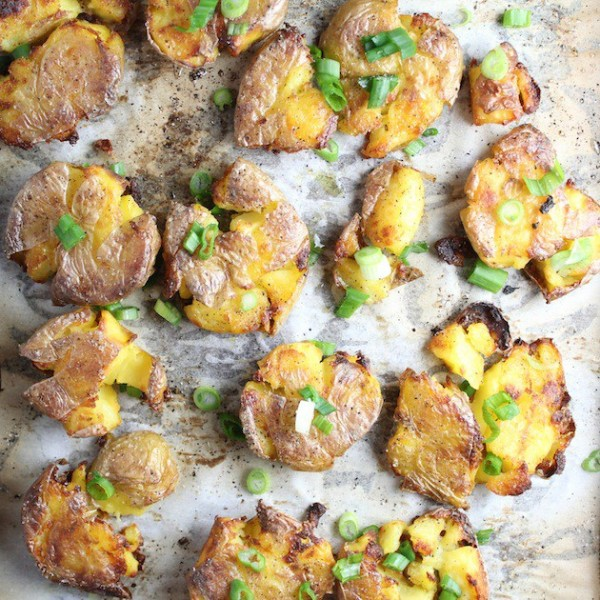 Smashed Potatoes by Holly | Epicurious Community Table