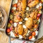 Balsamic Glazed Mediterranean Chicken Bake is our favorite
