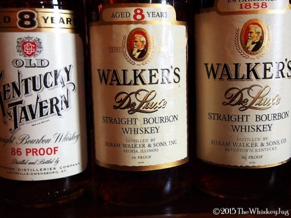 SCWC Tax Stamp Bourbon Tasting Walkers Deluxe and Kentucky Tavern