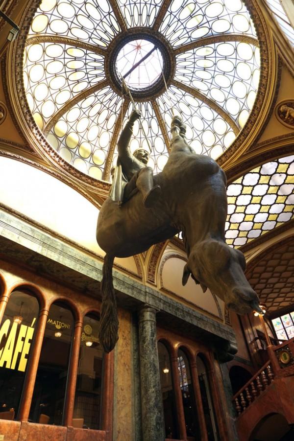 Lucerna Dead Horse Statue