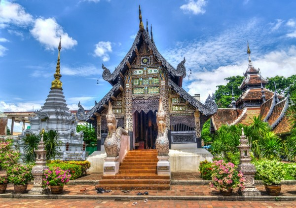 Chiang Mai, Thailand, Temple, Religion, Travel