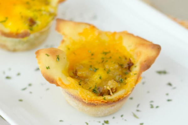 Gluten Free Breakfast Pizza Cups Pic
