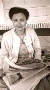 Nina Rayevsky Lief in the 1940s, once a bonafide flapper!