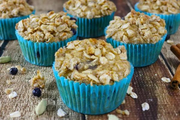 Blueberry Jicama Muffins Photo
