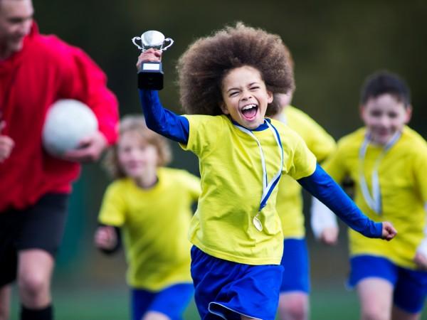 Winning Kid Soccer