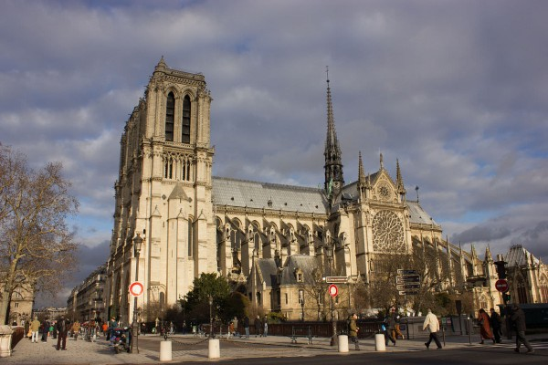 The-Cathedral-of-Notre-Dame-Paris-France