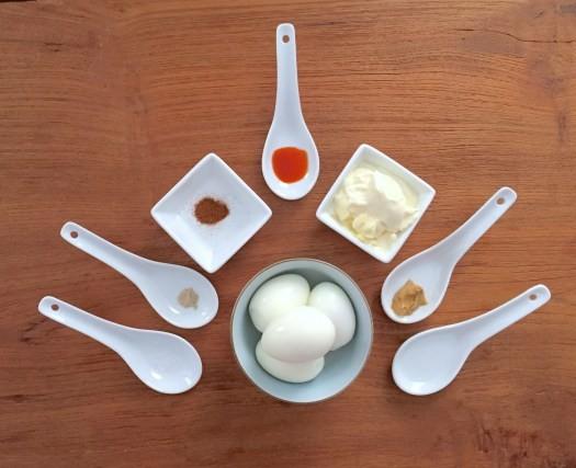 KitchAnnette Deviled Eggs Ingredients