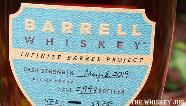 Label for the Barrell Infinite Barrel