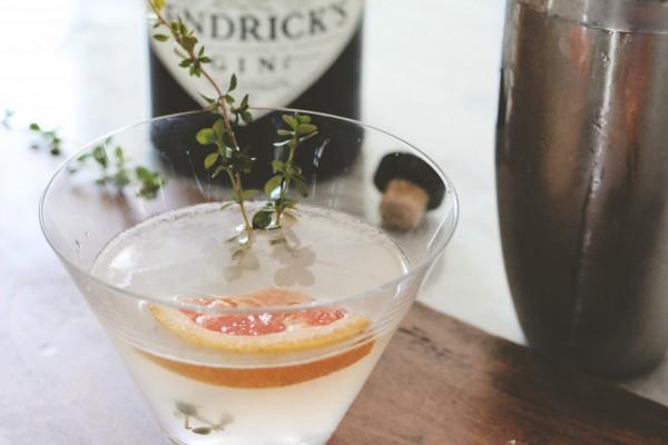 Hendricks Gin Sage Grapefruit Cocktail 2
