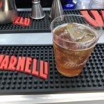 sibilia and lemonade cocktail