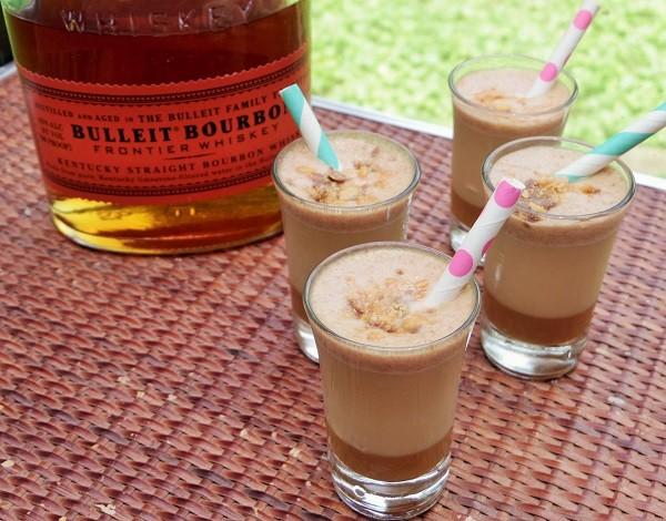 Butterfinger Bourbon Shots 1
