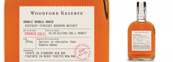 Woodford Reserve Double Double Oaked Bourbon Header