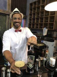 Timon Kaufman and a Café Bébo Martini