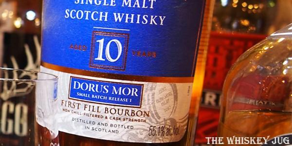 Bowmore Dorus Mor 10 Years Label