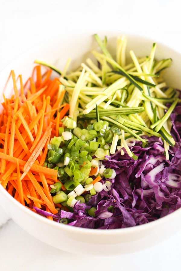 The perfect base for a MAYO-FREE coleslaw recipe!