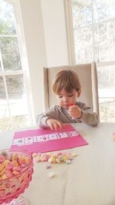 Kid's Valentines Party with Food, Craft, and Learning Activity