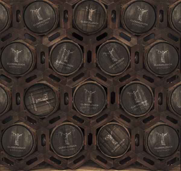 Aging Casks - Photo: Glendalough Distillery
