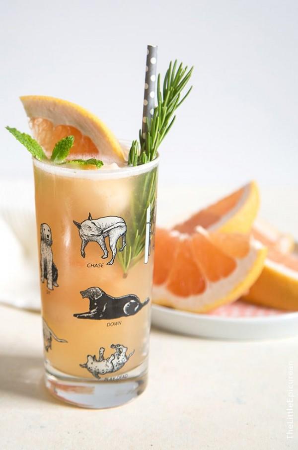 Greyhound Cocktail Float | The Little Epicurean