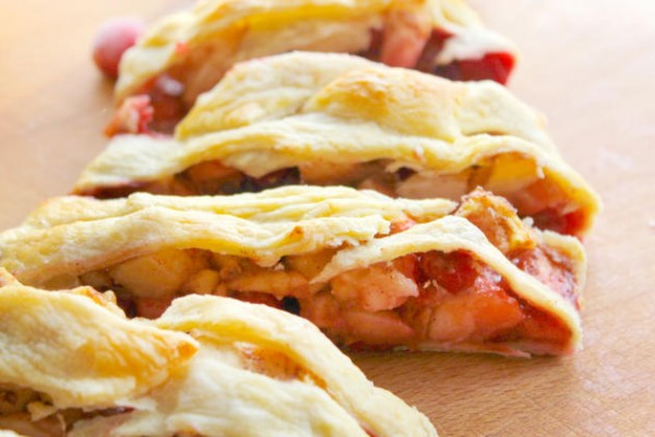 Cranberry Apple Strudel Image
