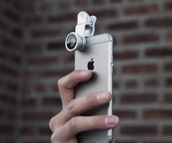 You can now build your own efficient camera from your iPhone by using this 3-in-1 Clip-on Lens.