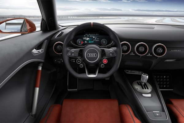 Interieur audi  See Audi's New Concept Car, the TT Clubsport Turbo by Marcus Troy ...