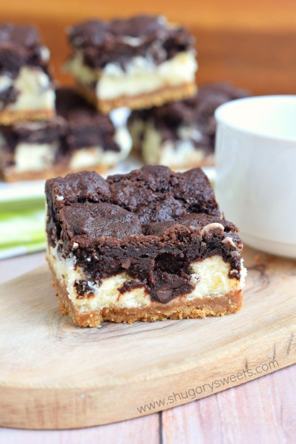 Chocolate Cheesecake Bars by Shugary Sweets | Epicurious Community ...