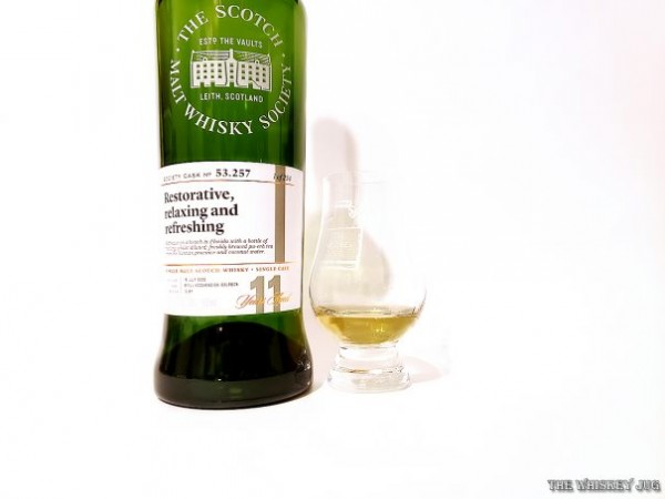 This is a crisp, tasty and aromatic Caol Ila.
