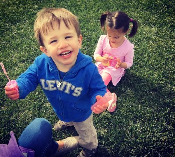 Our son, Levi