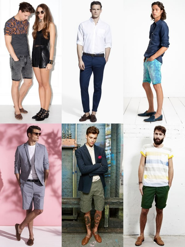 Men's Woven Slip-On Shoes Spring/Summer Outfit Inspiration Lookbook