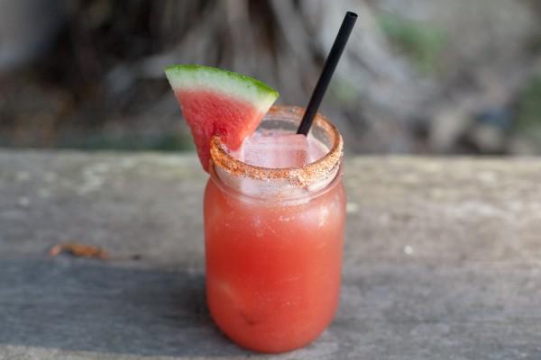 spiced watermelon cooler
