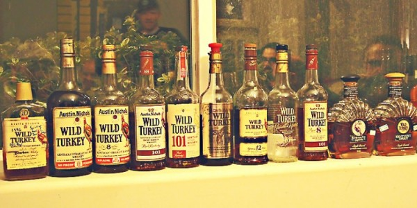 Rafter of Wild Turkey 101