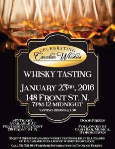 Canadian Whisky Tasting Poster Image