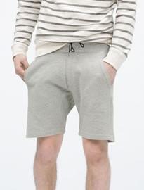 Zara Basic Pique Shorts