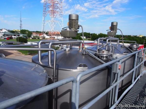 Balcones fermentation tanks