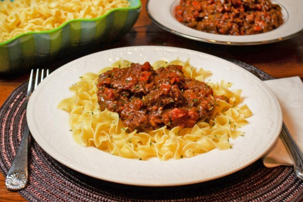 Red Wine Goulash Photo