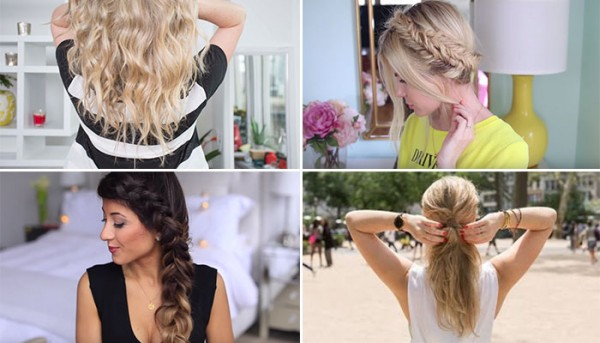 4 Hot-Weather Hairstyles that Will Survive Any Outdoor Wedding
