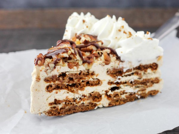 Gingersnap Turtle Icebox Cake Photo