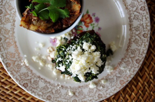 Spinach and Feta Filet