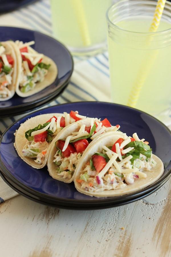 Tuna Salad Tacos   The Suburban Soapbox #tunastrong #cg