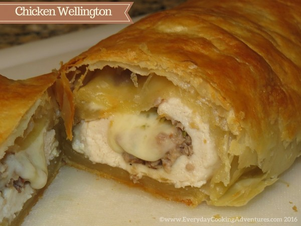 Chicken Wellington ©EverydayCookingAdventures2016