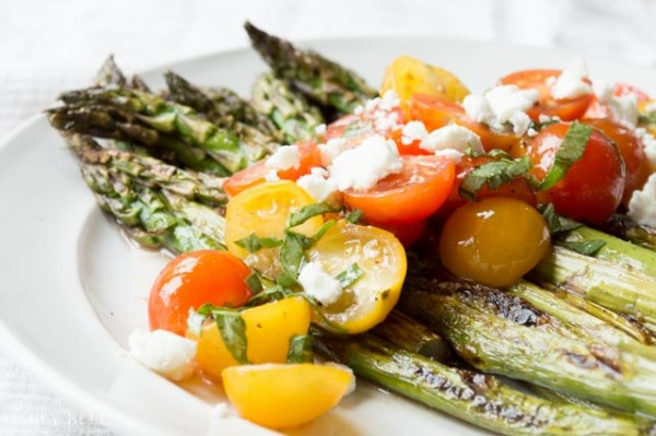 Grilled Asparagus and Caprese Salad  TODAY.com