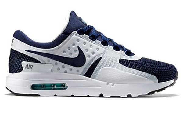Nike Air Max Zero White Navy