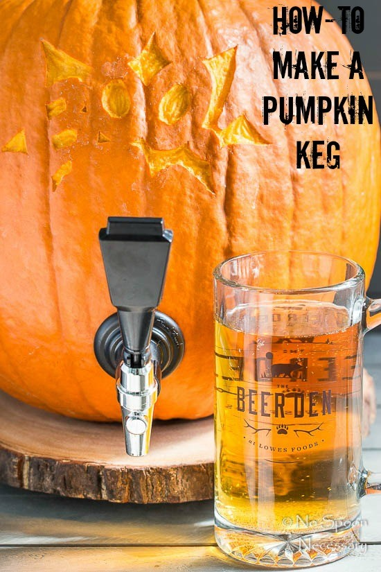 How-To Make A Pumpkin Keg - 5