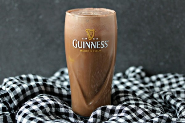 Chocolate Guinness Float Photo