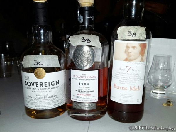 Malt Nuts - Grain Whisky Tasting 3