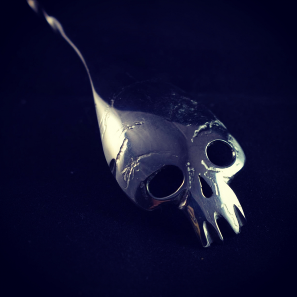 Skull Spoon by Bottesi