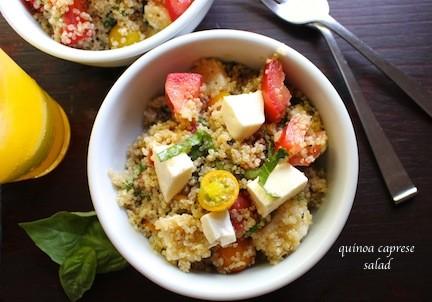Quinoa Caprese Salad | LocalSavour.com