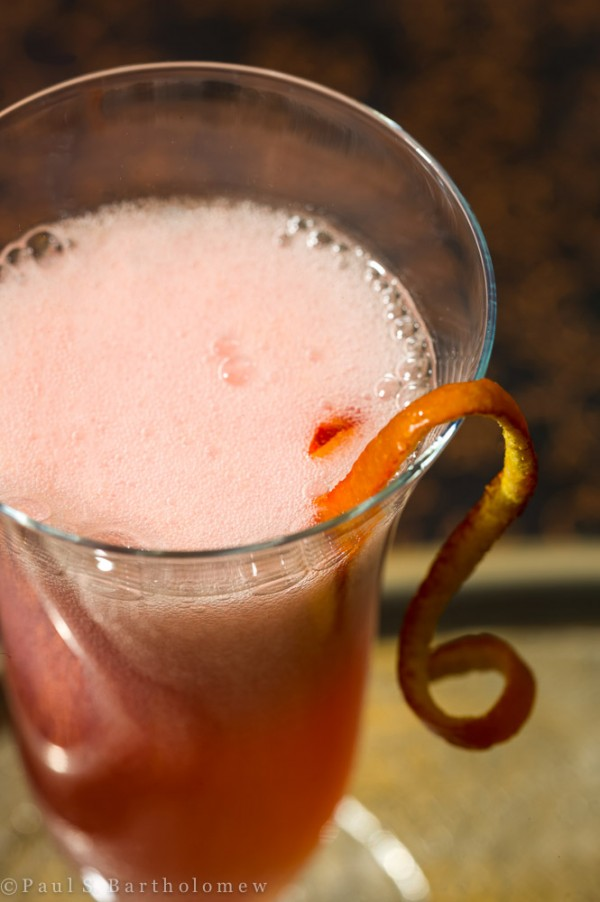 Rosé French 75 with Blood Orange : Classic : DrinkWire