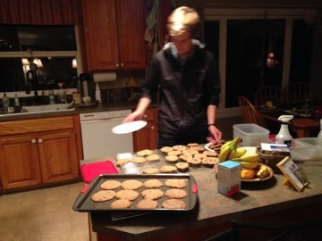 thank you wes Making cookies